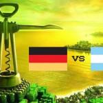 WM Finale: Deutschland gegen Argentinien – 9 Fakten im Weinvergleich