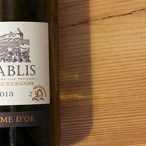 La larme d'or Chablis - Chardonnay der alten Welt