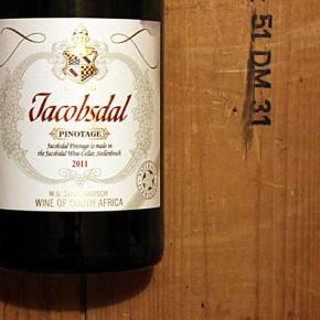 Jacobsdal Pinotage - Ein Wein für Nobelpreisträger!