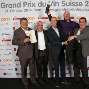 Das sind die Schweizer Winzer des Jahres - Von 2012 bis 2014