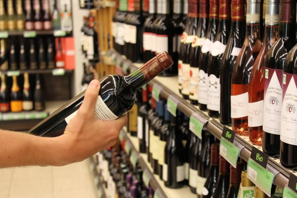 Supermarktwein