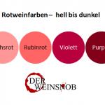Weinfarben – Weine an der Farbe unterscheiden lernen