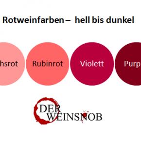Weinfarben - Weine an der Farbe unterscheiden lernen