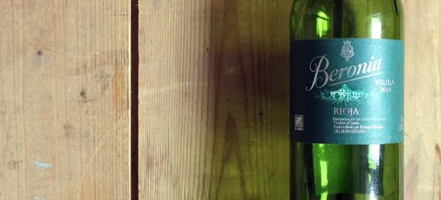 Beronia Viura - ein weißer Rioja bei Rewe