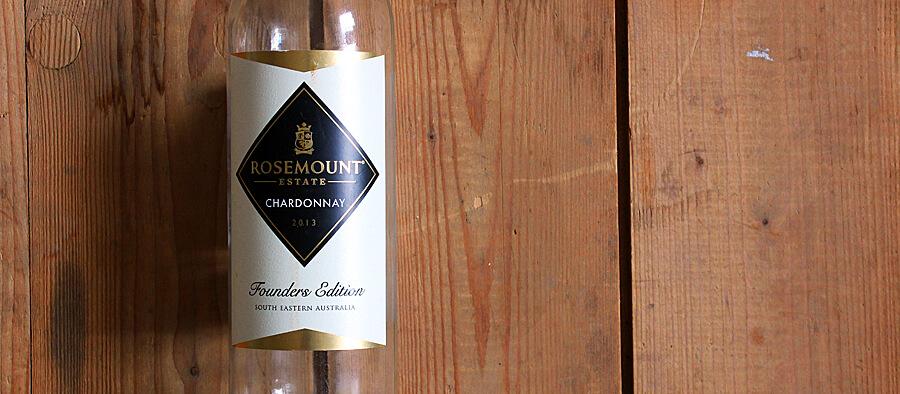 rosemount estate chardonnay founders edition