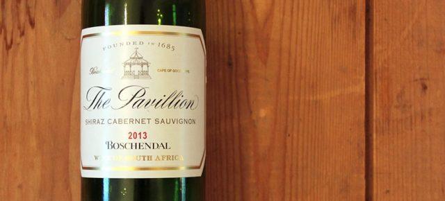 The Pavillion Shiraz Cabernet Sauvignon  - Best-Note für diesen Südafrikaner