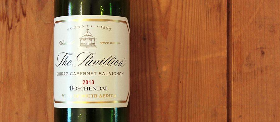 the pavillion shiraz cabernet sauvignon
