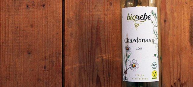 Biorebe Chardonnay - Veganer Biowein aus Italien