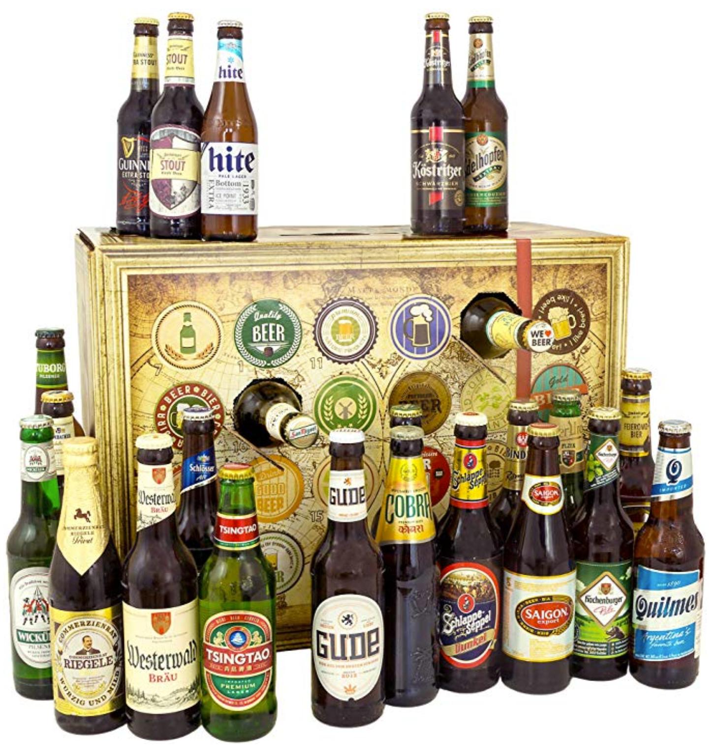 Bier Adventskalender Rewe