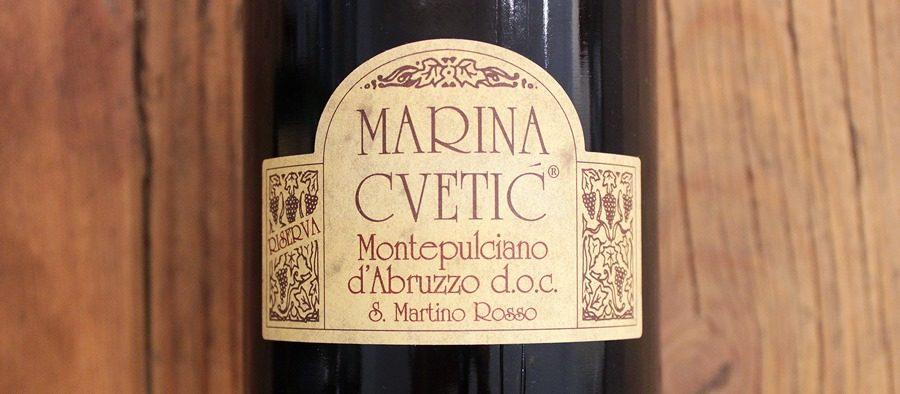 Marina Cvetic Montepulciano d Abruzzo Riserva