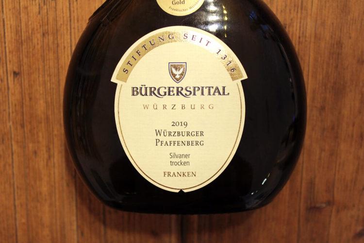 Bürgerspital Würzburger Pfaffenberg Silvaner Trocken
