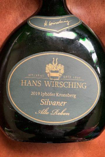 Hans Wirsching Silvaner Alte Reben Erste Lage Iphöfer Kronsberg